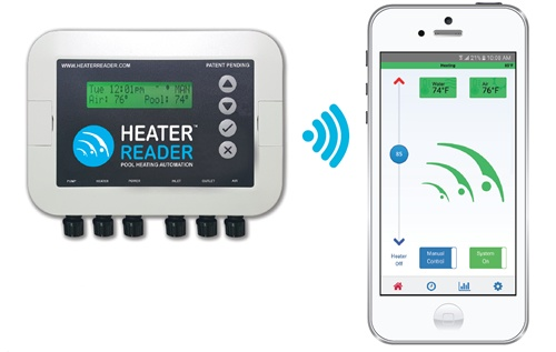 HeaterReader Smart Pool Heater & Pump Control Device and app