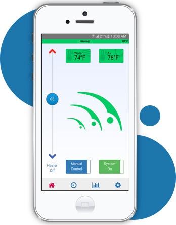 HeaterReader Swimming Pool Automation App