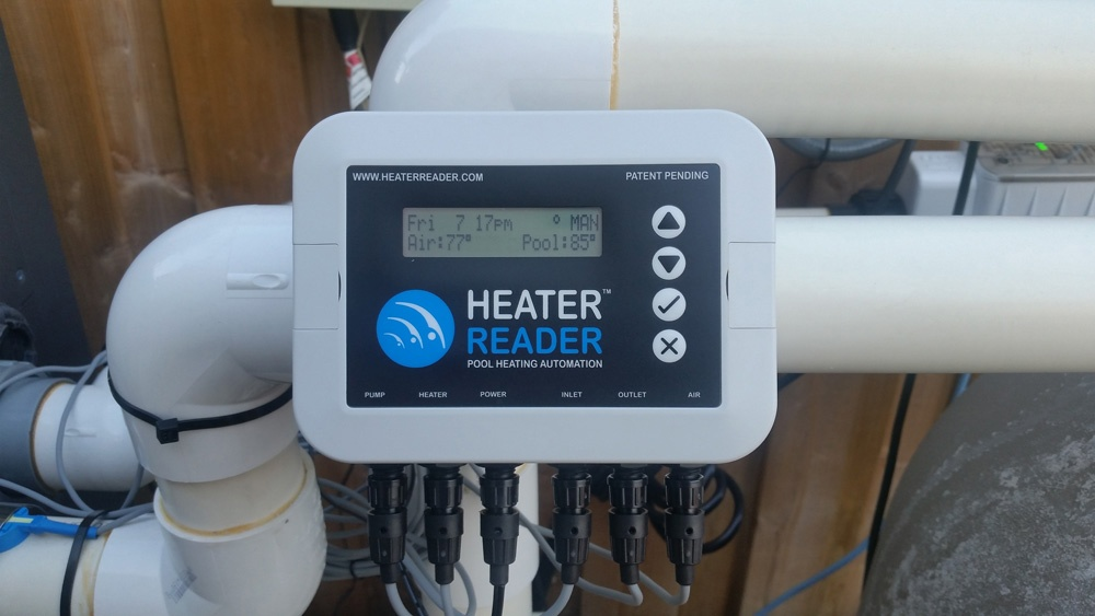 HeaterReader™ Can Be installed Inside or Out