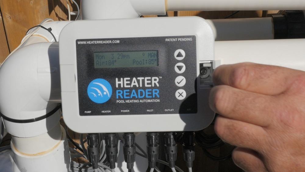 HeaterReader - Easy to Mount