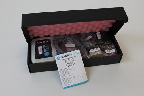 HeaterReader Packaging - Interior