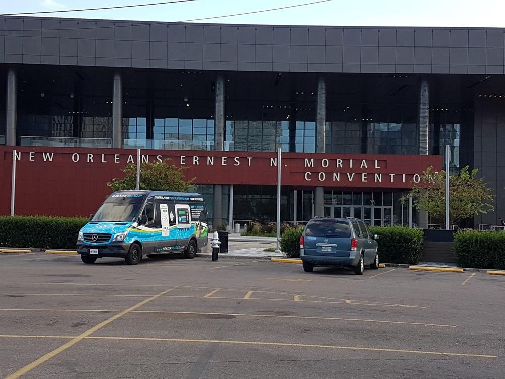 HeaterReader Van at the WWA Show and International Pool | Spa | Patio Show